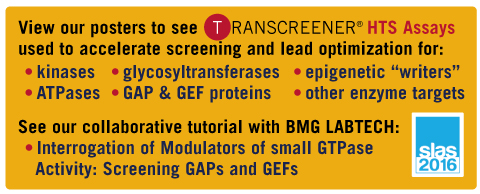 Learn more about our SLAS 2016 posters and tutorial