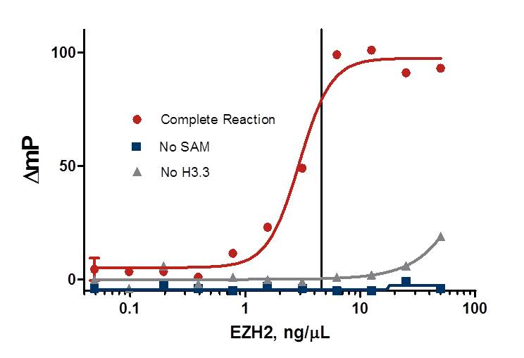 EZH2 Enzyme Titration