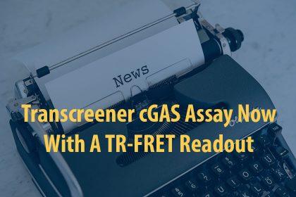 New cGAS TR-FRET Assay