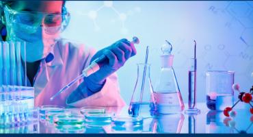 Researcher Using An ADP Assay